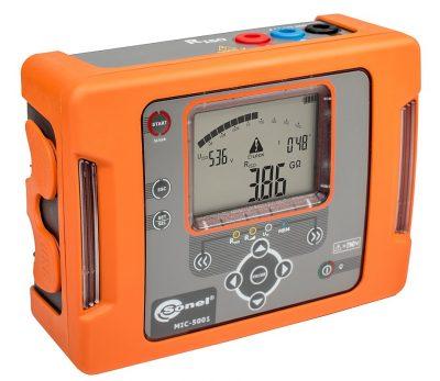 Medidor de resistencia de aislamiento MIC-5001